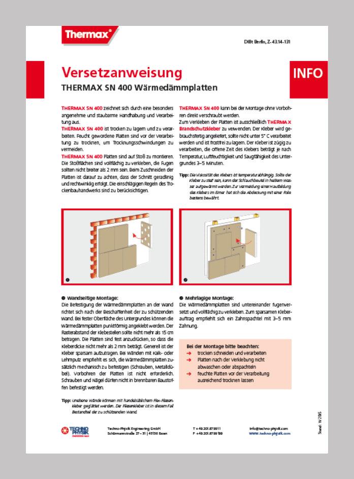 THERMAX_SN400_Versetzanweisung